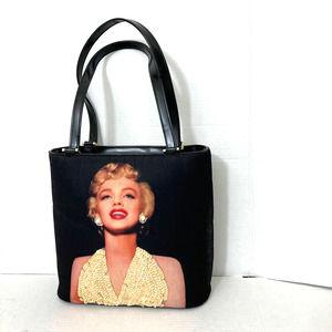 MARILYN MONROE Vintage Black Box Handbag